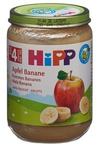 HIPP Apfel Banane Glas 190 g
