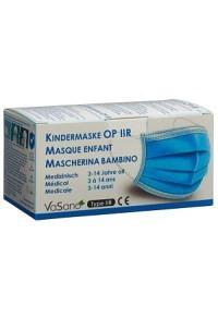VASANO OP Maske Kind 3-14 J Typ IIR D/F/I 50 Stk