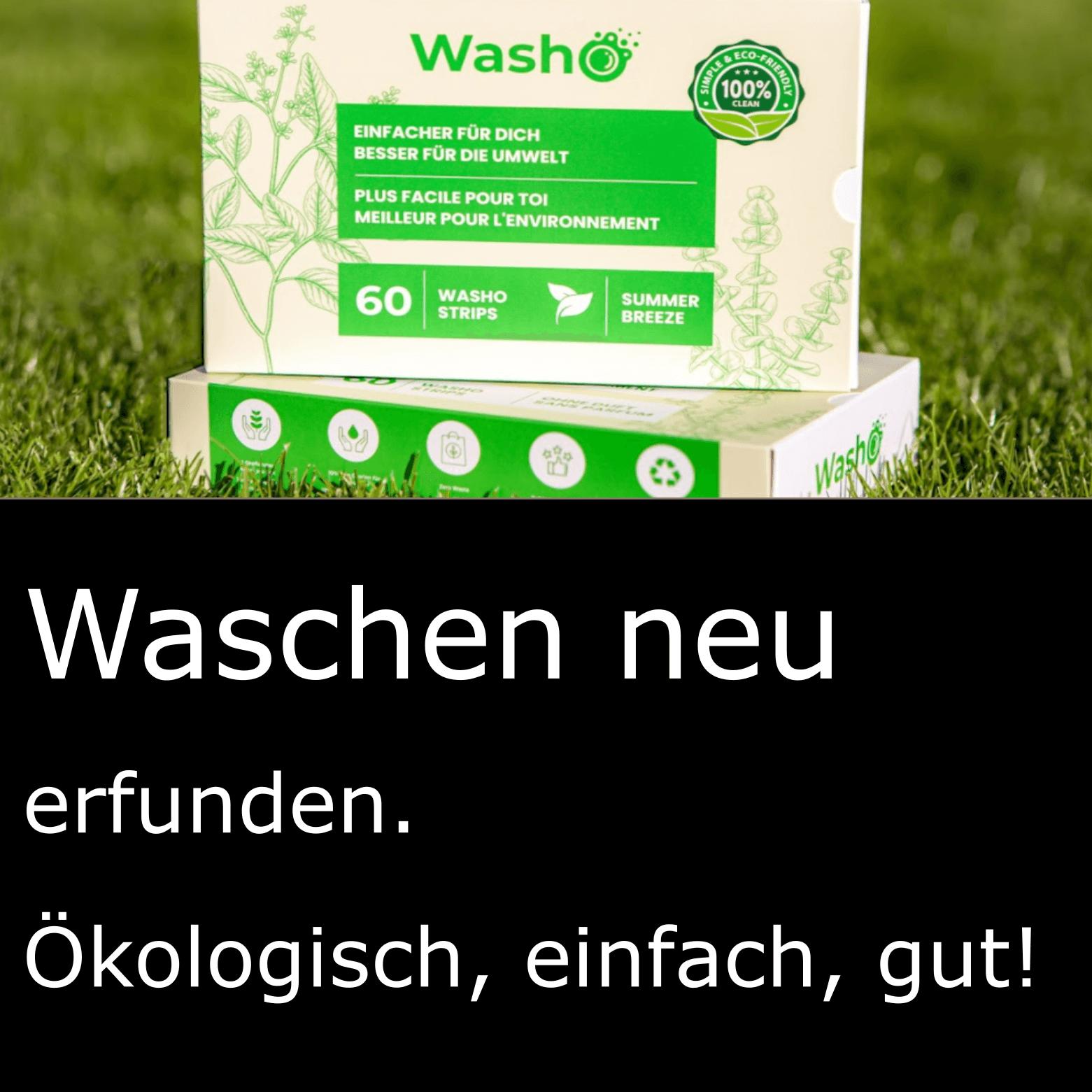 Washo. Wäsche waschen neu erfunden!
