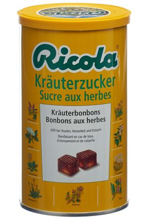 ricola kr uterzucker bonbons ds 400 g bonbons gegen husten erk ltung mein. Black Bedroom Furniture Sets. Home Design Ideas
