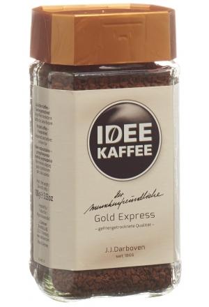 morga idee kaffee gold express l slich 100 g kaffee. Black Bedroom Furniture Sets. Home Design Ideas