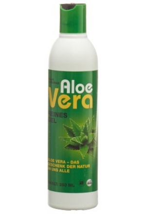 aloe vera hautpflege gel 100 naturrein 250 ml kosmetische cremen salben gel paste f r. Black Bedroom Furniture Sets. Home Design Ideas