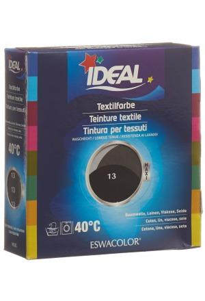 ideal maxi baumwolle color no13 schwarz stoff farben und. Black Bedroom Furniture Sets. Home Design Ideas