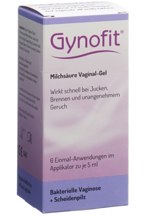 gynofit milchs ure gel vaginalgel 6 x 5 ml intimpflege. Black Bedroom Furniture Sets. Home Design Ideas
