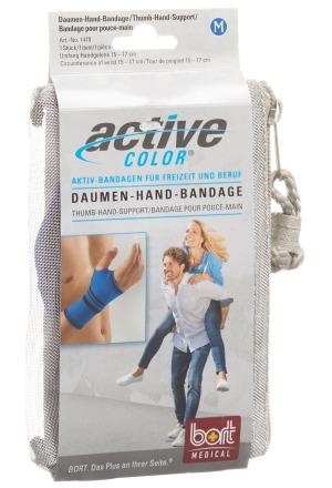 activecolor daumen hand bandage m blau handgelenkbandagen mein drogeriemarkt. Black Bedroom Furniture Sets. Home Design Ideas