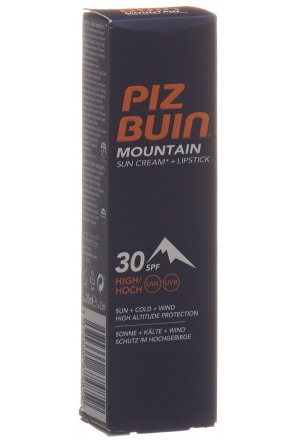 piz buin mountain combi spf30 lipstick spf30 20 ml lippenbalsam creme pomade mein. Black Bedroom Furniture Sets. Home Design Ideas