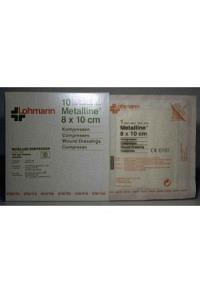 METALLINE Kompressen 8x10cm steril 10 Btl