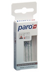 PARO ISOLA LONG 8mm medium grün zyl 5 Stk