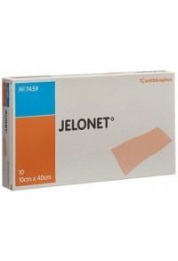 JELONET Paraffingaze 10cmx40cm steril 10 Stk