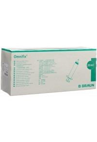 OMNIFIX Spritze 20ml Luer latexfrei 100 Stk