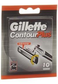 GILLETTE CONTOUR Plus Ersatzklingen 10 Stk
