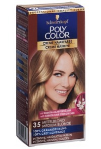POLYCOLOR Creme Haarfarbe 35 mittelblond