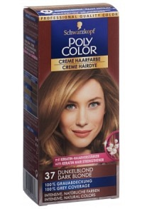 POLYCOLOR Creme Haarfarbe 37 dunkelblond