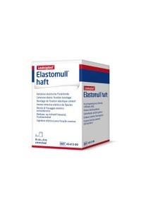 ELASTOMULL HAFT Gazebinde weiss 4mx8cm Rolle