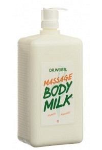 DR. WEIBEL Massage Bodymilk Fl 1000 ml