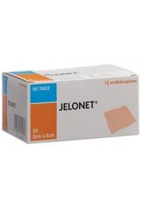 JELONET Paraffingaze 5cmx5cm steril 50 Stk