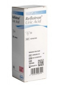 REFLOTRON Uric Acid Teststreifen 30 Stk