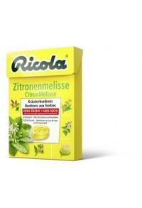 RICOLA Zitronenmelisse Bonbons o Zuck Box 50 g