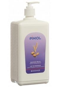 PINIOL Massagemilch m Mandel-Weizenkeimöl 1000 ml