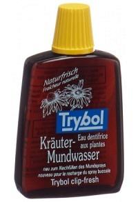 TRYBOL Kräuter Mundwasser Reiseflasche 20 ml