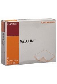 MELOLIN Wundkompressen 10x10cm steril 10 Btl