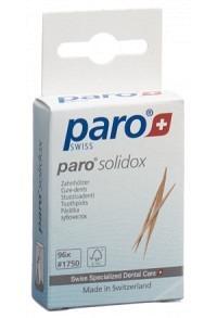 PARO SOLIDOX Zahnholz mittel doppelendig 96 Stk
