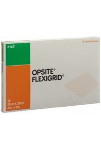 OPSITE FLEXIGRID Wundverband 15x20cm 10 Btl