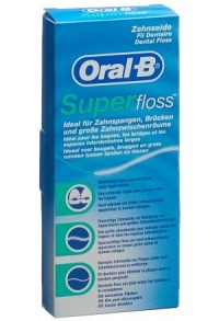 oral b superfloss zahnseide btl 50 stk zahnseide und zubeh r mein online drogerie markt. Black Bedroom Furniture Sets. Home Design Ideas