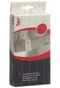 TALE Tennisellbogen Bandage 5cm Velcro weiss
