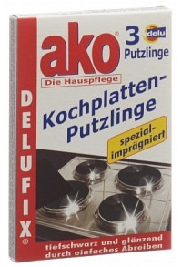 DELU Kochplatten-Putzlinge 3 Stk