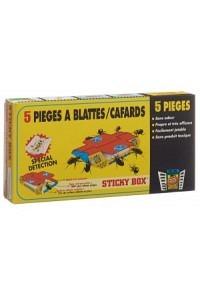 STICKY BOX Schabenfalle 5 Stk (Achtung! Versand nur INNERHALB der SCHWEIZ möglich!)