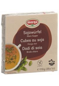 MORGA Soja Würfel mit Meersalz 25 Stk