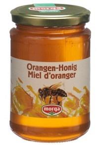 MORGA Orangen Honig Glas 500 g