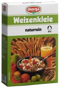 MORGA BIO Weizenkleie naturrein Knospe 250 g