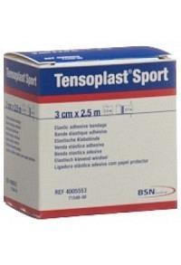 TENSOPLAST SPORT Elastisches Tape 3cmx2.5m