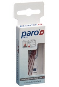 PARO ISOLA LONG 3mm x-fein rot zyl 10 Stk