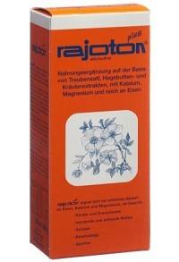 RAJOTON PLUS liq Plast Fl 500 ml