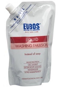 EUBOS Seife liq parf rosa refill 400 ml