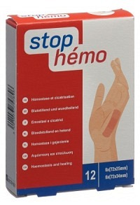 STOP HEMO Pflaster 12 Stk