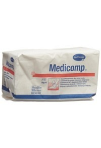 MEDICOMP Vlieskompr 10x20cm n st 100 Stk