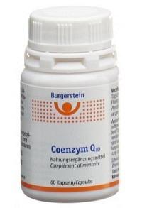 BURGERSTEIN Coenzym Q10 Kaps 60 Stk