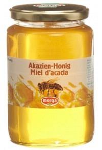 MORGA Akazien Honig Ausland Glas 1 kg