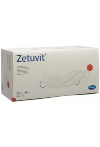 ZETUVIT Absorptionsverband 20x40cm 30 Stk