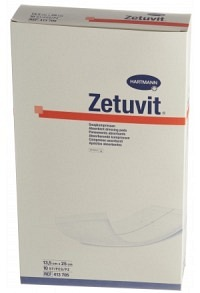 ZETUVIT Absorptionsverband 13.5x25cm steril 10 Stk