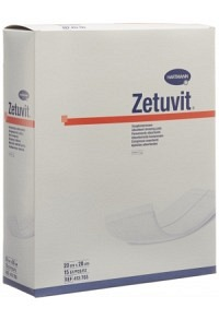 ZETUVIT Absorptionsverband 20x20cm steril 15 Stk