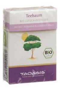 TAOASIS Teebaum Bio-Pastillen 30 g