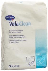 VALACLEAN Basic Ein Waschhandsc 15.5x22.5cm 50 Stk