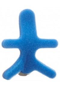 OMNIMED DALCO FROG Fingerschiene M silber blau