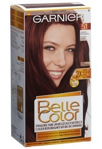 BELLE COLOR Einfach Color-Gel No51 dunkel mahagoni