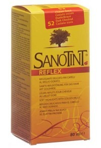 SANOTINT Reflex Haartönung 52 dunkelbraun